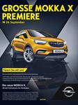 Opel Mokka X und Zafira rollen zu den Händlern