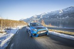 Ford Focus RS als Taxi in Norwegen.