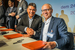 Carsten Breitfeld (links) und Stefan Seiberth, Project Head Bosch, Mobility Solutions, New Customers.