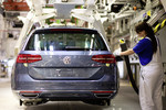 Produktion des VW Passat in Emden.