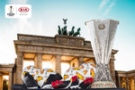 "Die ""UEFA Europa League Trophy Tour Driven by Kia"" macht Station in Berlin."