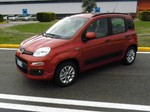 Pressepräsentation Fiat Panda: Gewachsen und gefälliger