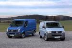 Volkswagen bringt Transporter und Crafter als Blue Motion