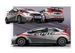 Honda baut Civic für Tourenwagen-Weltmeisterschaft auf