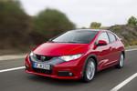 Honda präsentiert Civic bei FIS-Team-Tour