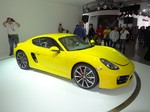 "Porsche Boxter und Cayman ""World Performance Car 2013"""