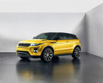 "Brüssel 2013: Range Rover Evoque ""Yellow Edition"" enthüllt"