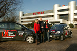 Toyota übergibt zwei Aygo an die X-Scouts