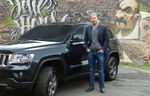 Christopher Posch fährt Jeep Grand Cherokee