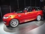 New York 2013: Weltpremiere des Range Rover Sport