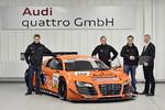 Audi liefert 100. Kunden-Rennwagen aus