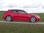 Pressepräsentation Audi S3 Quattro: Das feuerrote Spielmobil