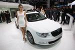 Shanghai 2013: Modellpflege beim Skoda Superb