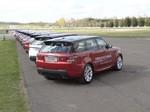 Pressepräsentation Range Rover Sport: Bruder Leichtfuß