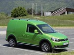 Pressepräsentation Volkswagen Cross Caddy: Allrad ergänzt die Optik