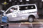 Nissan Evalia patzt im Crashtest