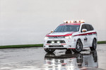 Mitsubishi Outlander Pikes Peak Safety Car.