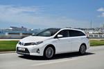 Pressepräsentation Toyota Auris Touring Sports: Viel Platz, wenig Emissionen