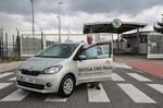 Dem Škoda Citigo CNG reichen rund 2,5 Kilogramm Erdgas