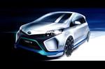 IAA 2013: Toyota zeigt Konzept eines sportlichen Yaris Hybrid