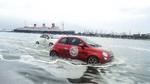 Fiat 500 macht den Freischwimmer