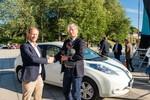 Nissan stellt mit Leaf Weltrekord auf