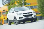 Pressepräsentation Hyundai ix35: Detailverbesserung