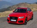 Pressepräsentation Audi RS Q3: Im Handbetrieb geht`s besser