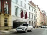 Der Range Rover macht sich lang