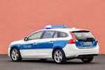 Bundespolizei fährt mit Volvo V60 Plug-in-Hybrid