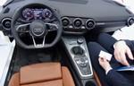 CES 2014: Audi lässt schon einmal in den TT blicken