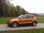 Pressepräsentation Volkswagen Cross Polo: Auffällig