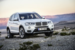 Pressepräsentation BMW X3: Näher an der Kante