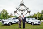 EU-Politiker testen Hyundai ix35 Fuel Cell