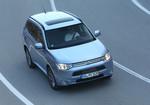 Mitsubishi Plug-in Hybrid Outlander: Mit der Kraft der drei Herzen