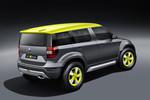 Skoda Yeti Xtreme im Rallye-Trimm mit Sandschaufel
