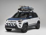 Surfin' USA: Fiat 500L für Vans-Fans