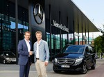 Pilawa fährt Mercedes-Benz V-Klasse