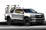 Freizeitstudie zum neuen Chevrolet Colorado Sport