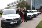 Sechs VW E-Caddy für Uni Hannover