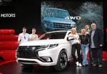 Mitsubishi Plug-in Hybrid Outlander: 2943 km mit einer Tankfüllung