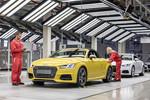 Produktionsstart des Audi TT Roadster in Ungarn