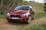 Pressepräsentation BMW 2 xDrive Active Tourer: Keine Angst vor groben Pisten