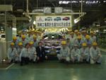 Mitsubishi feiert fünfmillionstes Auto aus Okazaki
