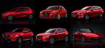 Fast jeder dritte Mazda3-Käufer nimmt Rubinrot Metallic