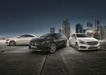 """Mercedes-Benz A, CLA und GLA im """"Street Style"""""""