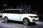 New York 2015: Range Rover Autobiography zieht Blicke auf sich