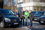Cannondale fährt Mercedes-Benz Vito und V-Klasse