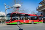 Stockholm betreibt erste Linie mit Elektro-Hybrid-Bussen
