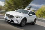 Pressepräsentation Mazda CX-3: Auffällige Erscheinung